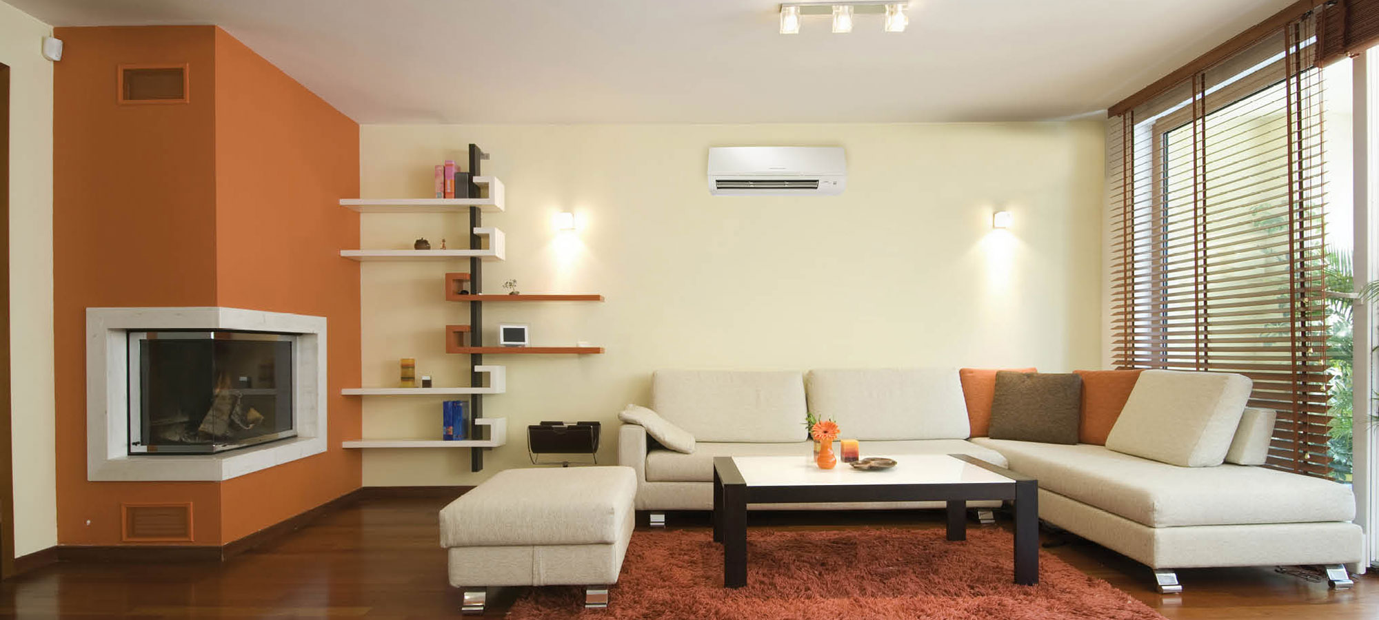 Ductless units can control a room's comfort any time of year.